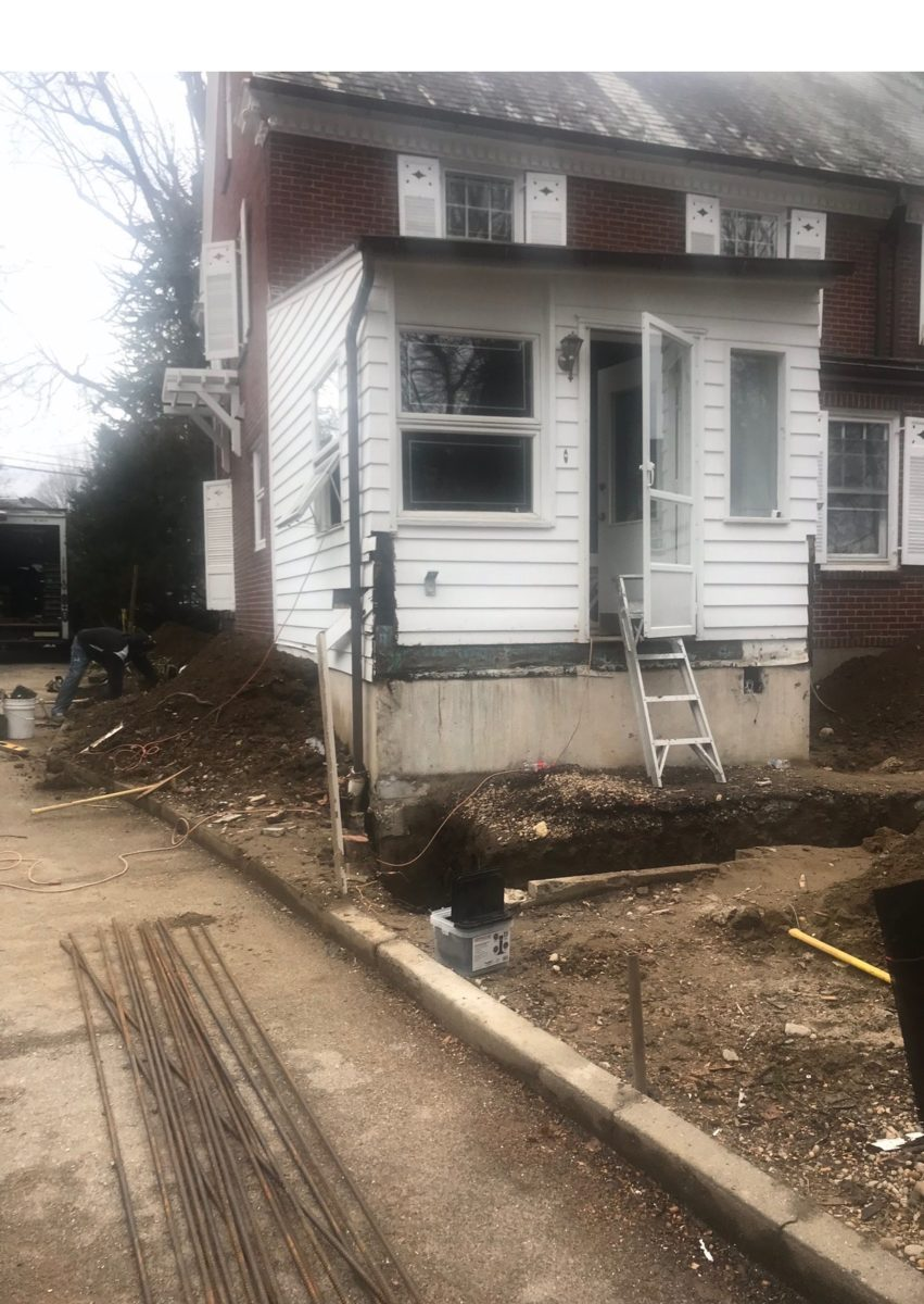 Gut renovation before in scarsdale