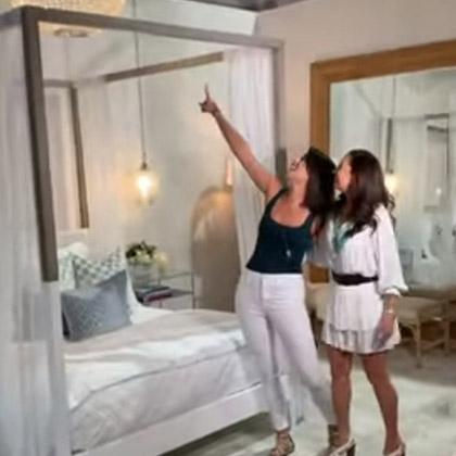 Roxanne Vargas loves her dream Master Suite