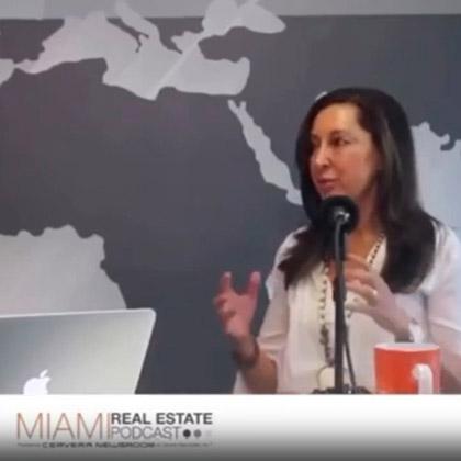 Debbie Travin on Miami Real Estate Podcast