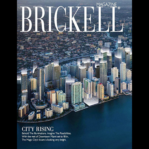 DLT Interiors featured in Brickell Magazine.