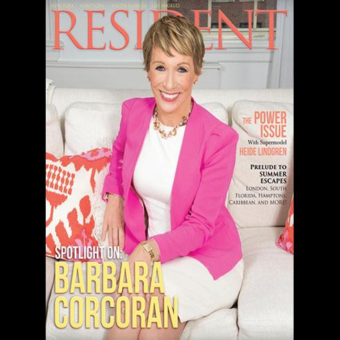 Interior Designer featured in a magazine issue