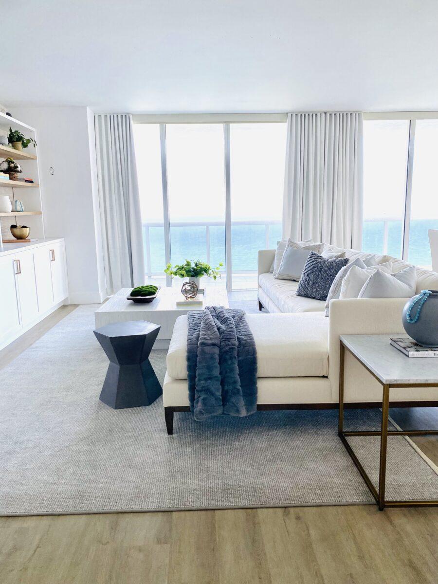 Interior Design Coastal Living Room