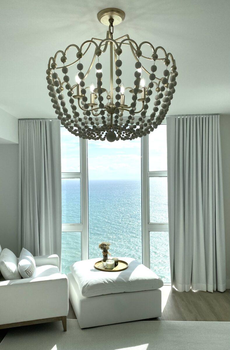 Coastal Modern Master Bedroom Design